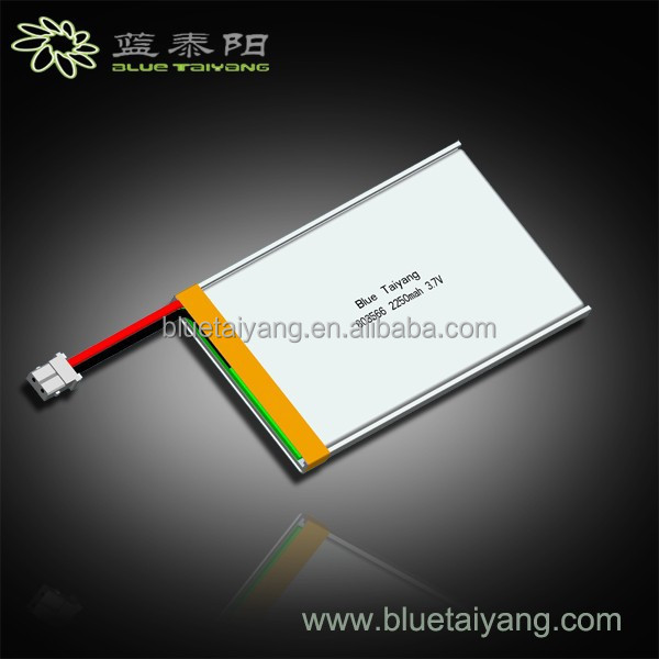 803566 2250mah 3.7V rechargeable battery