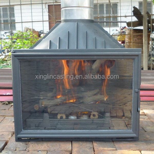 cast iron wood fireplace 30 years factory