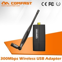 COMFAST CF-WU855P 300Mbps China Supplier 2T2R RTL8192 USB Wifi Nano Wireless Adapter with Soft AP function