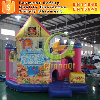 Pretty inflatable castle inflatable castle bouncer for sale