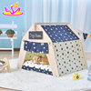 Portable pet tents & houses for dog cat W06F072