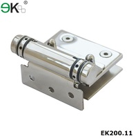 SS316 dorma glass door drill-in hinges for swimming pool fence