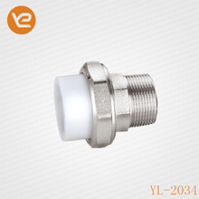 Yunnl Fitting Pipe PPR Union Pipe Union With Female Thread