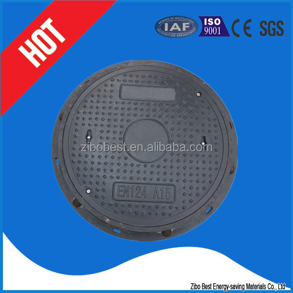 Round fuel tank manhole covers