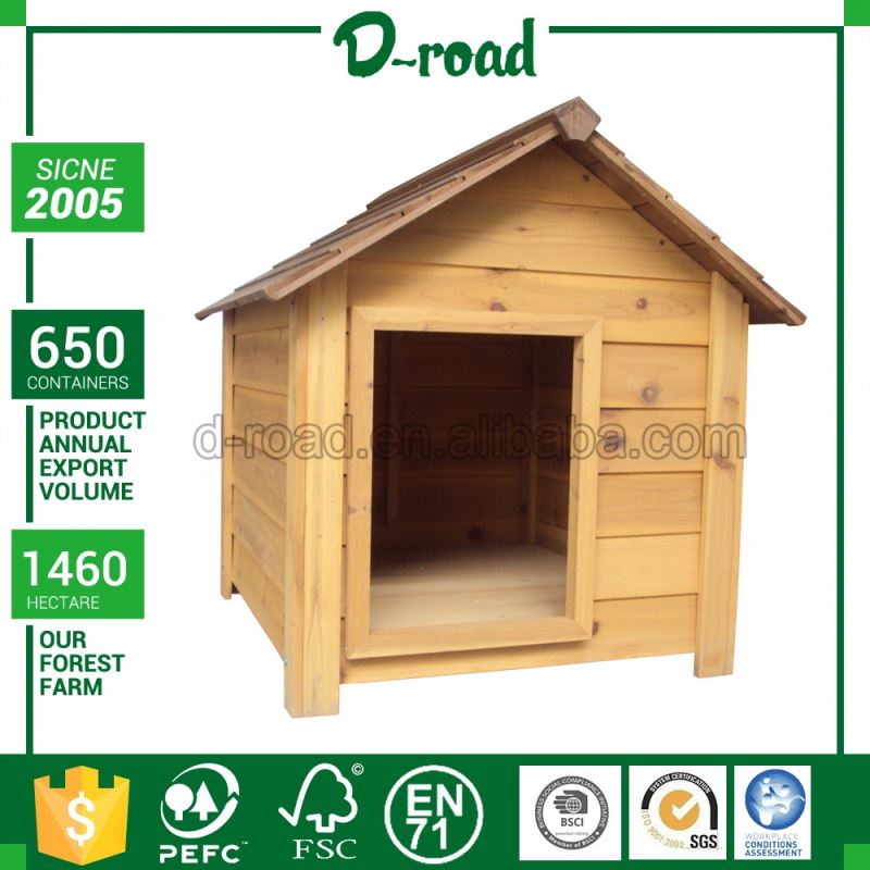Wholesale Custom Printing Logo Wooden Acrylic Dog Pet House Shaped Donation Box