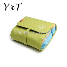 Promotional cheap large capacity pu material beauty makeup cosmetic bag