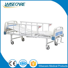 Hospital Furniture Two cranks Manual hospital bed for patients