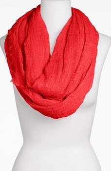 XH-1262 New 100% cotton solid infinity scarf