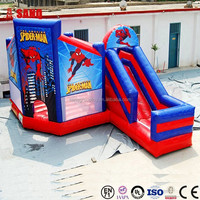 Park Inflatable Water Games Inflatable Castle With Slide