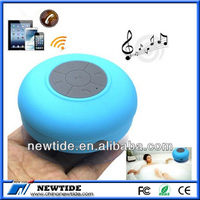 2014 low cost waterproof wireless/vatop bluetooth speaker with led light