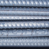 China wholesale reinforced steel rebar, deformed steel bar, 8mm 12mm iron rod price for building