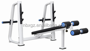 GYM Equipment downcline bench