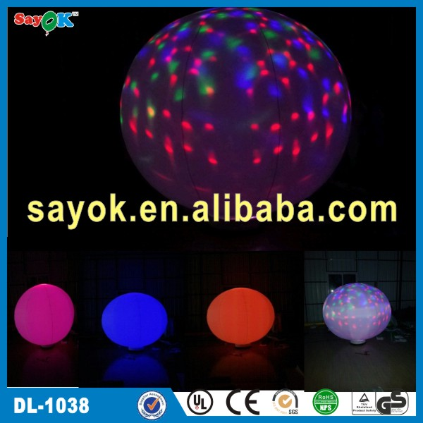 Party/events/advertising lighting outdoor inflatable balloon