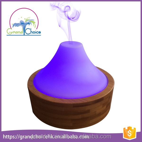 150ml Bamboo Essential Oil Diffuser Color Changing Ultrasonic Aroma Humidifier Cool Mist Maker Air Diffuser Purifier