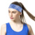 Moisture wicking sports custom printed headbands for yoga and running workour headbands