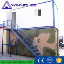 Movable Small Prefab New Design Double Storey Modular Container House
