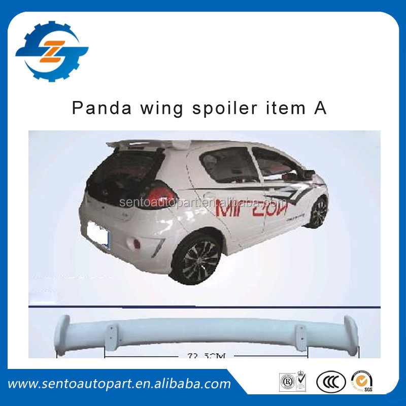 ABS high quality car rear wing spoiler for panda without light item A car parts