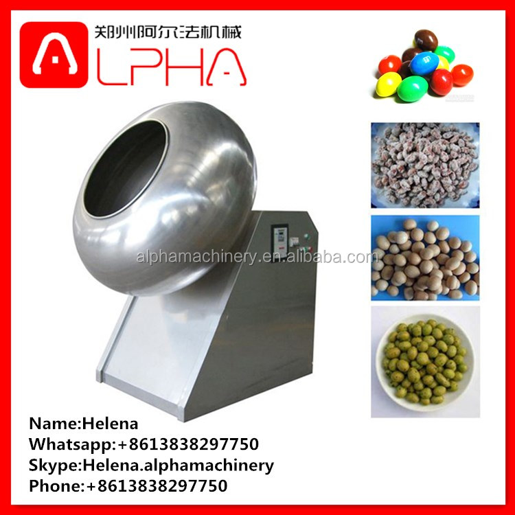 peanut glazing machine/sugar coating machine/chocolate coater