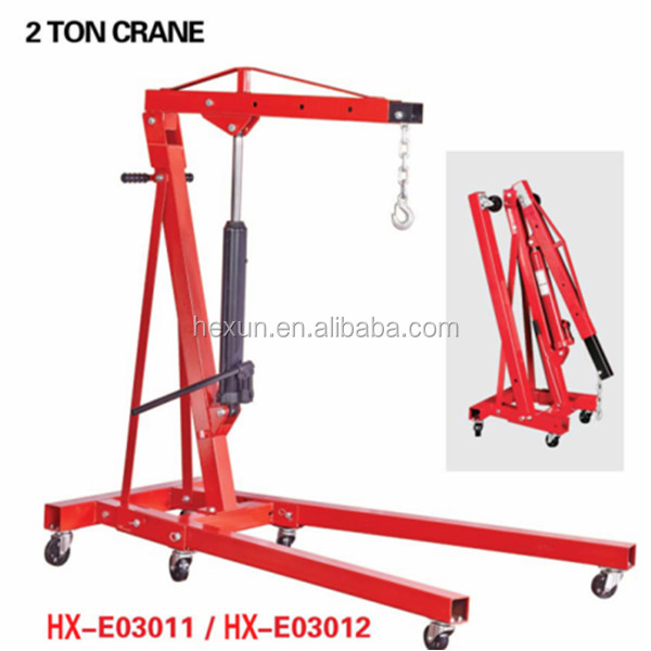 2TON Hydraulic Folding Engine Hoist