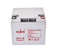 OCEAN wholesale small 12v 38ah lead acid gel battery for inverter and ups