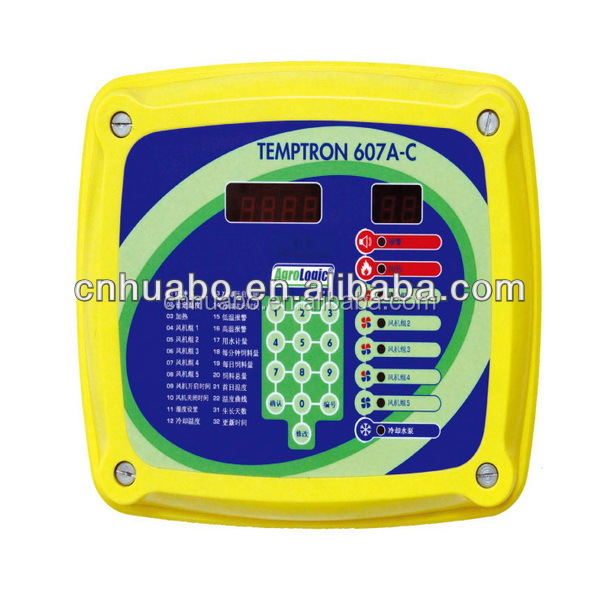 Huabo enviroment controller for poultry farm design
