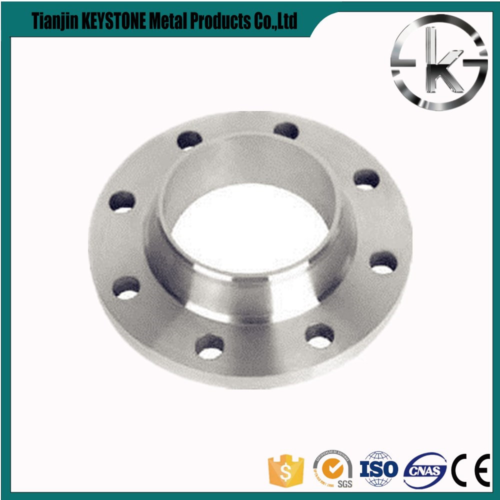 4 inch carbon steel a105 rf long weld neck flange from China YZF Y82