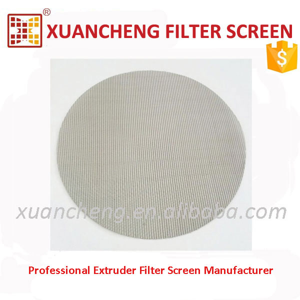 PET Recycled Flakes Use Stainless Steel Filtering Wire Mesh