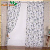 Russia export style popular print window curtain