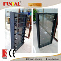 china factory cheap price aluminum window doors/customized aluminium glass louver windows