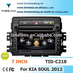 Special car dvd player for KIA CEED 2012 with Unique 3D flash graphical user interface