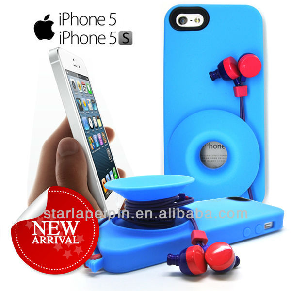 Useful silicone case for mobile iPhone 5/5S case
