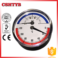 Made in China alibaba manufacturer small pressure temp gauge