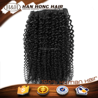 "7a High Quality 20"" 30 Inch Human 100% Virgin Marley Braid Hair Extensions Clips On In"