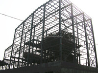prefab easy to install type of steel structure
