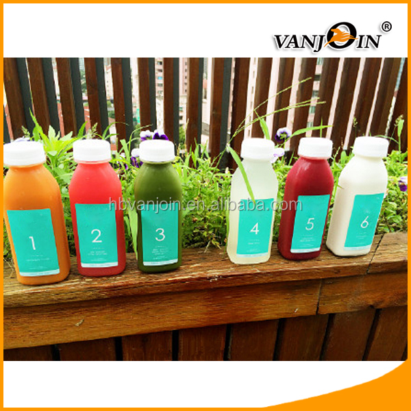 Empty Cold Fresh Juice Cleanse 350ml 300ml 200ml PET Bottle for Juice