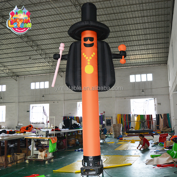 Cheap top quality advertising high sky dancer air tube inflatable dancing man