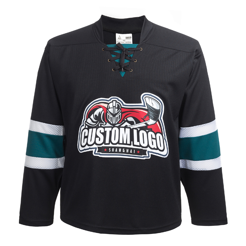 Custom Name/Number For Team San Jose Sharks Embroidery Hockey Jersey