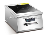 Induction electric cooktop