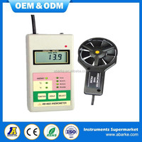 Wind speed measurement multimeter china ce wind meter anemometer AM4822