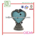 miniature metal heart shaped stand picture photo frame