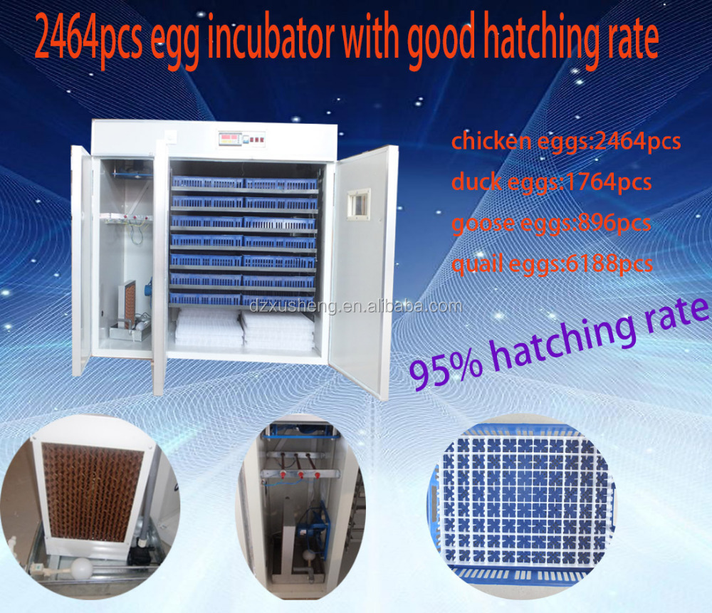 2464pcs hicken Eggs Automatic Industrial Incubator egg incubator for sale /incubator industrial for chick