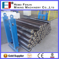 Industrial Coal Mine Used Rubber Belt Conveyor Steel Troughing Idlers With Good Price