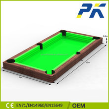 2017 new design factory direct Super Popular Outdoor Inflatable pool soccer table