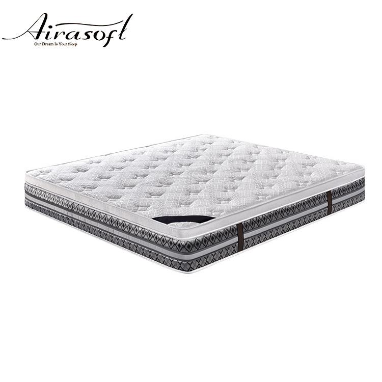 airasoft box top compression foam 5 zone pocket spring sightly medium cheap factory customize in a box retail bed mattress - Jozy Mattress | Jozy.net