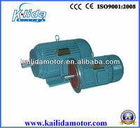 AC asynchronous motor Y2 series B3-foot mounted type IP54 insualation class electric motor 4kw