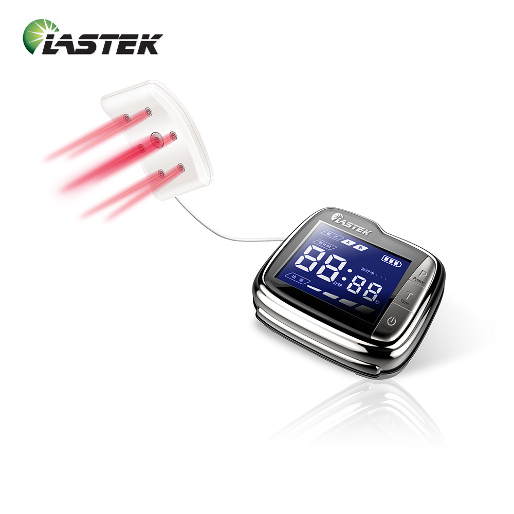 Hot sale digital medical non invasive laser therapy watch high blood pressure