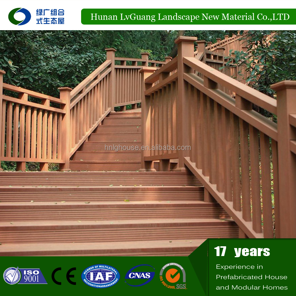 wpc Hot selling exporting wholesale wood fence