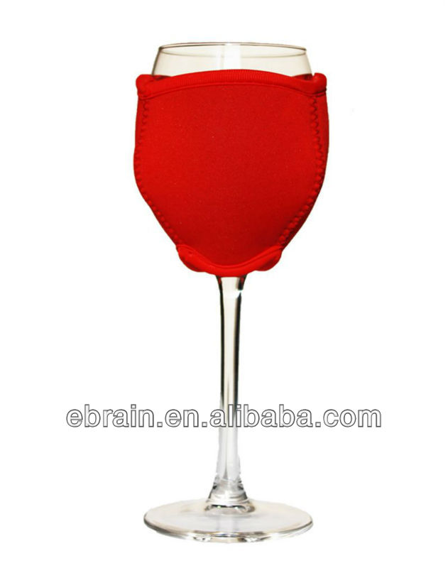 glass wine goblet cooler