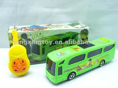 4CH remote control bus with light