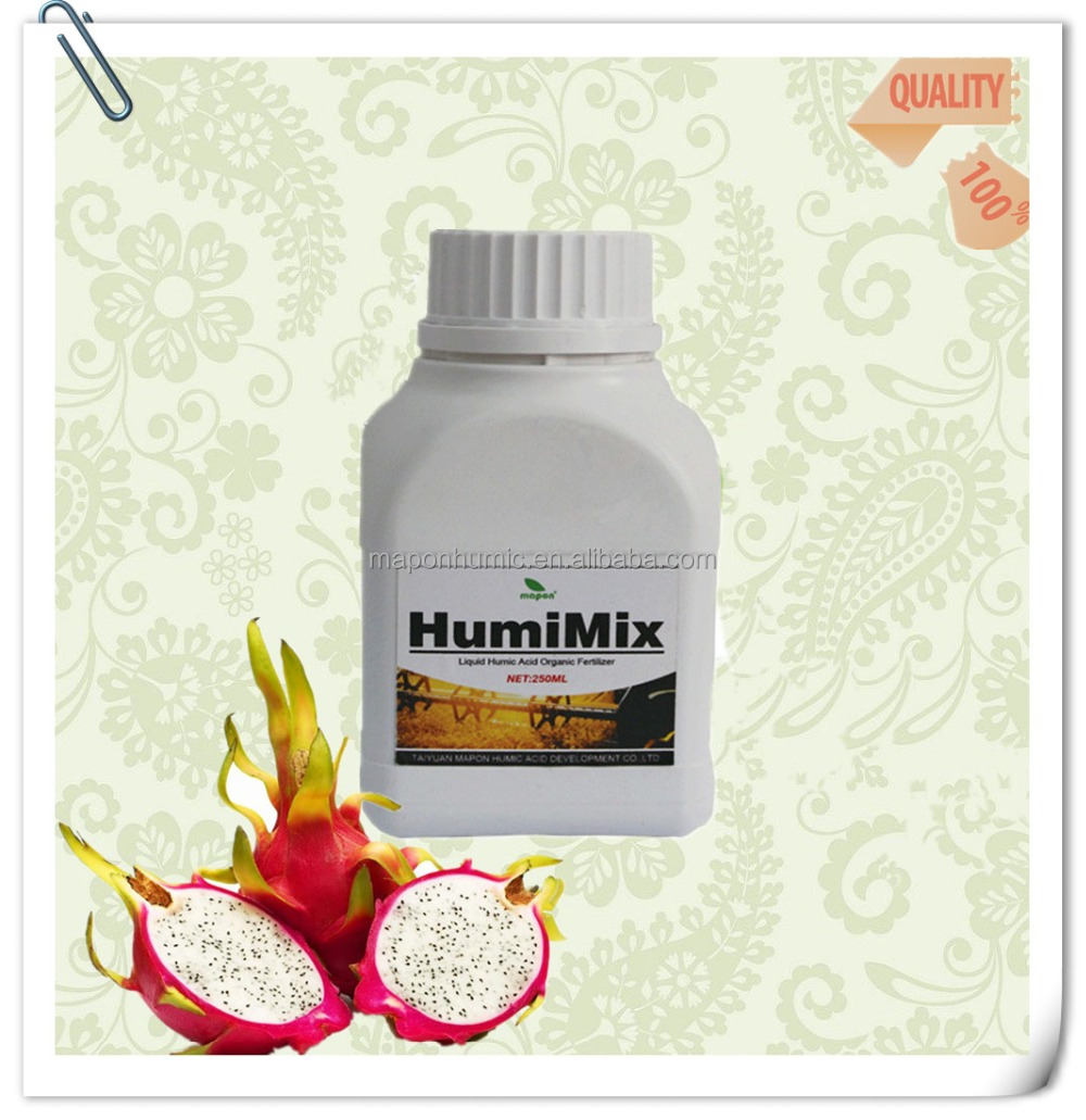 Liquid humate fertilizer manufactures in China to improve plant growth